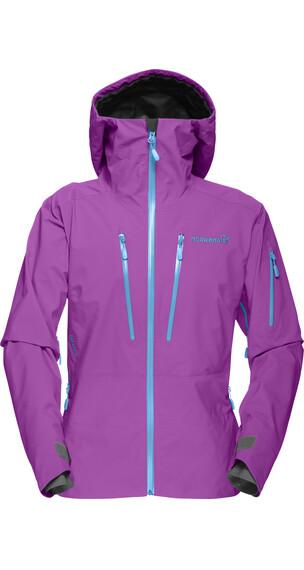 Norrøna W's Lofoten Gore-Tex Pro Jacket Pumped Purple